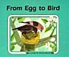 From Egg to Bird (Start to Finish Book) by…