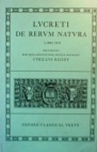 De Rerum Natura: Libri Sex by Titus…