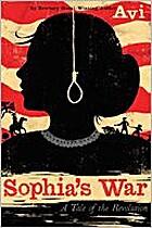 Sophia's War by Avi