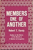 Members one of another by Robert T. Handy