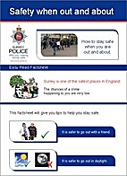 Safety when out and about by Surrey Police