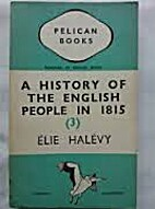 Pelican Books A History of the English…