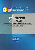 Exiting war post conflict military…