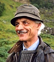 """Author photo. P.J.G. Ransom, author of """"Iron Road"""" and """"Loch Lomond and the Trossachs"""""""