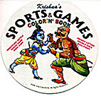 Krishna's Sports and Games Colorin' Book