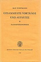 Gesammelte Vorträge und Aufsätze. 2,…