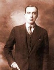 Author photo. Vicente Huidobro