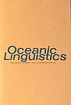 Oceanic Linguistics XIX 1/2