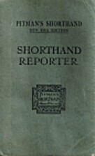 Pitman's Shorthand Reporter by Isaac Pitman