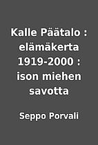 Kalle Päätalo :…