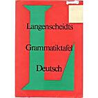 Langenscheidts Grammatiktafel Deutsch by…