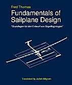Fundamentals of Sailplane Design by Fred…