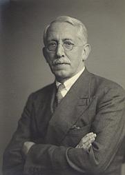 Author photo. Sir Ernest Barker.