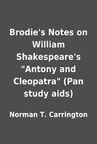 Brodie's Notes on William Shakespeare's…