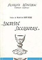 Identite sacerdotale by Francois Reveilhac