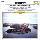 Chopin Piano Favorites by Frédéric Chopin