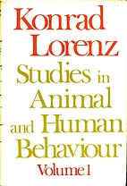 Studies in Animal and Human Behaviour by…