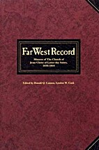 Far West Record by Donald Q. Cannon