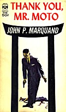 Thank You, Mr. Moto by John P. Marquand