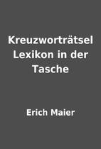 Kreuzworträtsel Lexikon in der Tasche by…