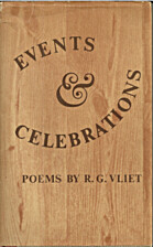 Events and Celebrations by R. G. Vliet