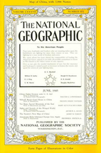 National Geographic Magazine 1945 v87 #6…