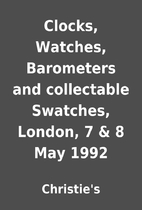 Clocks, Watches, Barometers and collectable…