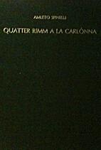 Quatter rimm a la carlònna...: In dialètt…