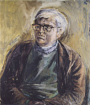 Author photo. David Wright. Portrait by Patrick Swift, c. 1960.