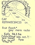 Gay Reminiscences on Fruit Punch - Gay Men's…