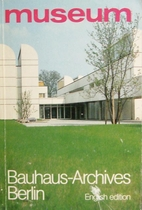 Museum - The Bauhaus Archives Berlin by Hans…