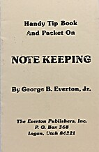 Handy Tip Book And Packet on Note Keeping by…