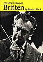 Britten (Great Composers) by Imogen Holst