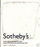 Sotheby's 20th Century British Art and…