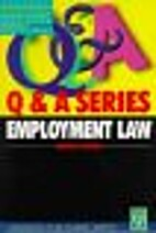 Employment Law (Palgrave Law Masters) by…