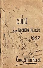 Guides des rochers belges 1957