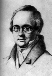 Author photo. Lithograph by V.P. Langer, 1830