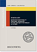 Arbeitsrecht by Alfred Then