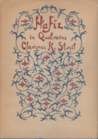 Hafiz in Quatrains by Hāfiz
