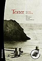 Texter : från Sapfo till Strindberg by…