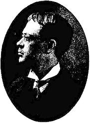 Author photo. Image from <b><i>The old and the new magic</i></b> (1906) by Henry Ridgely Evans