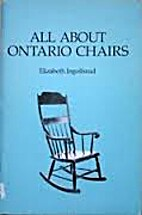 All about Ontario chairs by Elizabeth…