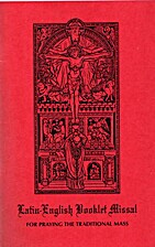 Latin-English Booklet Missal For Praying The…