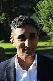 Author photo. Vaseem Khan