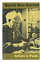 Letters to Paula by David Ben-Gurion