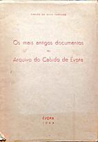 Os mais antigos documentos do Arquivo do…