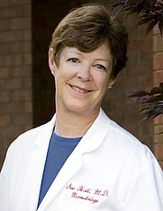 Author photo. Sue L. Hall, M.D.