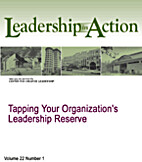 Tapping Your Organization's Leadership…