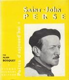 Saint-John Perse by Alain Bosquet