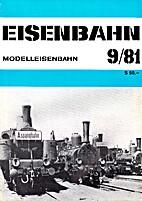 Eisenbahn 9/81 by Eisenbahn